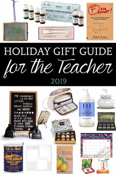 14 gifts teachers really want as told by teachers (and some of them might surprise you). #teachergifts #teachergiftideas