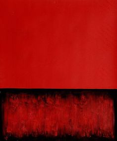 Mark Rothko ~ Untitled (Red and Black), 1955