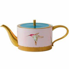 Wedgwood & Bentley Orchid Teapot