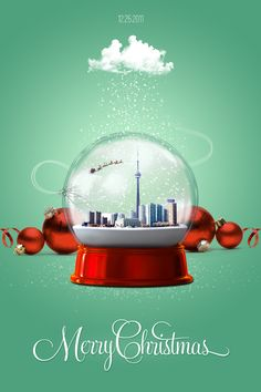 snow globe poster - Google Search