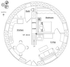 ... cob house on Pinterest | Straw Bales, Dome Homes and Round House Plans