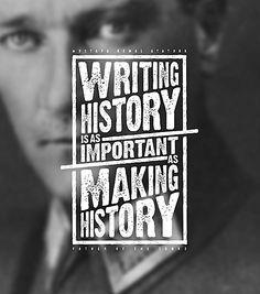 Typographic Ataturk Quotes by Ozan Karakoç via Behance Typography Letters, Typography Poster, Graphic Design Typography, Lettering Design, Logo Design, Writing Inspiration, Graphic Design Inspiration, Daily Inspiration, Ataturk Quotes