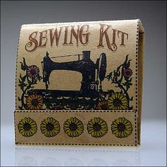 Matchbook Sewing Kit (with pattern) -  oh my...i LOVE this tutorial.  if only i had time, i would make these for all my friends to have in their purses, tool kits, etc!