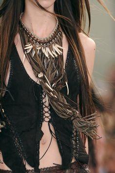 A Dothraki girl, Roberto Cavalli