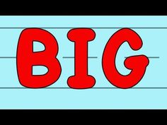 The Big and Small Letters Song - great for introducing the alphabet to kids.