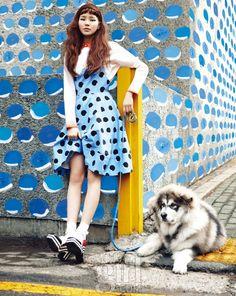 koreanmodel: Jin Jungsun by Soo Jin for Vogue Girl Korea Mar 2013.