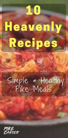 10 Super Simple & Healthy Pike Recipes - Pike Reciepes & Pike Cooking Tips - tina Northern Pike Recipe, Fresh Water Fish Recipe, Pike Recipes, Pike Fishing, Baking Recipes, Healthy Recipes, Fish Dishes, Freshwater Fish, Cooking Tips