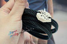Virgo Zodiac Constellations Men's Bracelet by SakuraZIPPERjewelry, $39.00