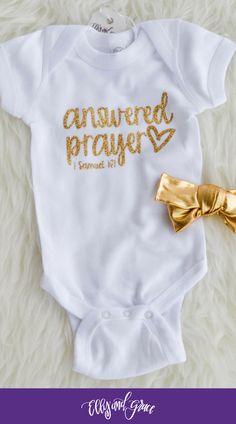 Christian infant and baby clothing. The softest bodysuits and onesies around! https://presentbaby.com