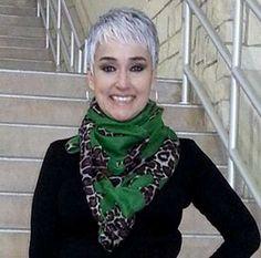 Grey Short Hair for Women Over 40