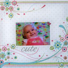 Cute Baby LO by Wendy Kessler