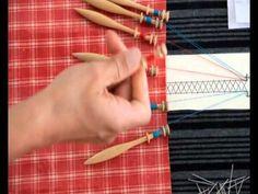 exercice 1 dentelle aux fuseaux - YouTube