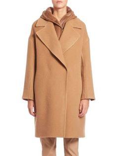 Max mara oversized mantel