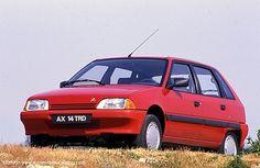Citroen AX Hatchback 1987 - 1997 Citroen Ax, Ds, Classic Cars, Passion, Trucks, Vehicles, Autos, Infancy, Blue Prints