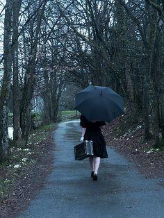 Umbrella. Travel.