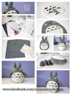 Totoro - could be a great party favor for birthday party.. everyone takes home their own totoro!