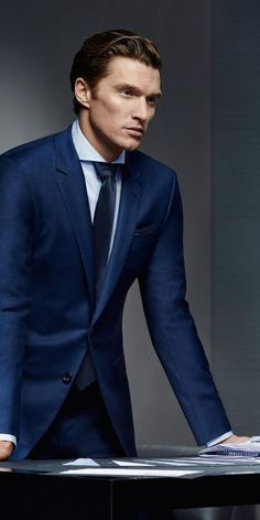 Shaun DeWet Stars in Hugo Boss Made to Measure Fall/Winter 2015 Campaign