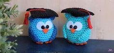 Tutorial gufetto laureato a uncinetto con tecnica amigurumi #crochet
