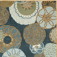 love the colors in this rug
