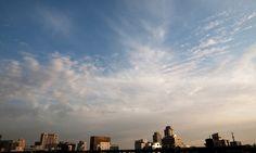 미디컴에서 바라본 서울 하늘