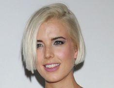 Agyness Deyn short cute hairstyles