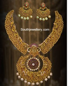 gold balls necklace 474x600 photo