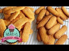 Kedi dili biskuvi tam ölçülü garanti tutan bi tarif inanılmaz kolay - YouTube