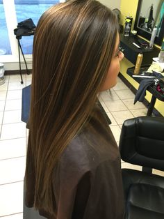 Sunkissed caramel highlights