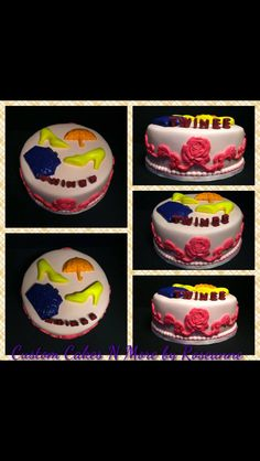 Fashion Themed Cake