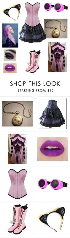 """Steampunk Cheshire Cat (Original Cheshire Cat)"" by shadow-cheshire ❤ liked on Polyvore"