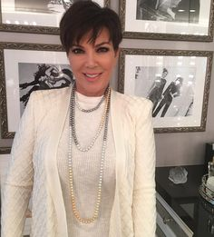 First look at my new jewelry line, Kris Jenner Signature Collection, coming very soon! These pearls are to die for!!! #limitededition #comingsoon #sneakpeek #soexcited