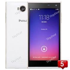 "INEW V7 5.0\"" IPS OGS HD MTK6582 Quad Core Android 4.4.2 3G Phone 16MP CAM 2GB RAM 16GB ROM P07-IWV7"