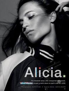 alicia vikander editorial - Google Search