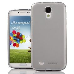 KaysCase Slim Soft Skin Cover Case for Samsung Galaxy S4 SIV S IV Smart Phone Verizon AT Sprint Tmobile (SMOKED) by KaysCase, http://www.amazon.com/dp/B00AW17YEW/ref=cm_sw_r_pi_dp_MBRVrb0P0C7TE