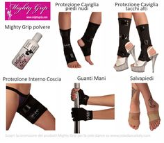 Pole Dance Accessories - Mighty grip and pole dance protections