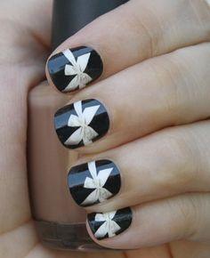Bow Nail Wraps
