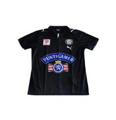 87fd8c845 PUMA STURM GRAZ 2009 HOME CENTENARY JERSEY BLACK. Black ShortsShirt ShopGraz Soccer ...