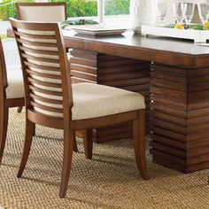 <strong>Tommy Bahama Home</strong> Ocean Club Kowloon Side Chair
