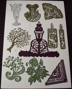 Part of my Tattered Lace collection.