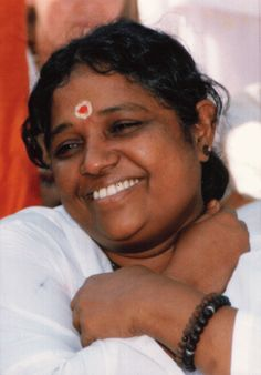 Amma - My Guru - What sensation of plenty love is receiving her hug. I was so lucky twice...