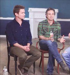Matt Bomer & Mark Ruffalo - The Hollywood Reporter