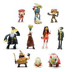 Psychonauts Figures (i want them all) las quiero todas.