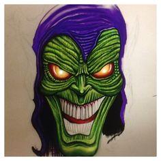 The green goblin (sketch book pro iMac