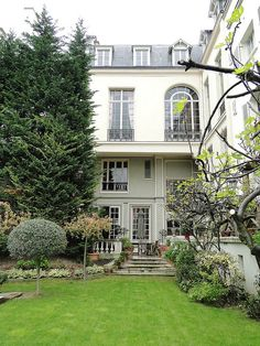 my porch in Paris