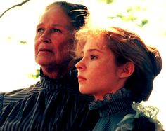 Anne & Marilla. The Anne of Green Gables is my all time favorite series. :) <3