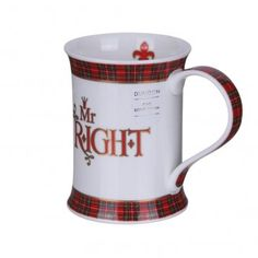 Dunoon Mr Right Cotswold Shape Mug | Temptation Gifts