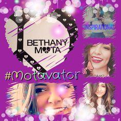 Made this for Bethers:) #Motafam @Bethany Shoda Shoda Shoda Mota  (creds to @Christina Childress & Rivalto  for the Bethany Mota pic:))