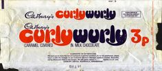Mmm...Curly Wurly. And look...only 3p!