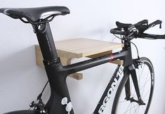 Bicycle shelf made to keep your bike securely and supplement your home special quality detail. Due to big notch this model can store not only classic men bicycle but also MTB, BMX and bikes with wide frame.