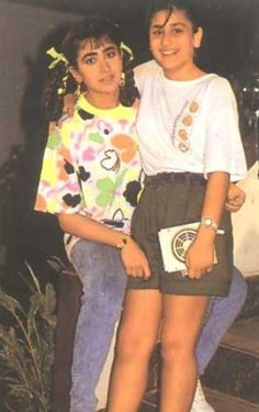 - karisma kapoor, kareena kapoor - 10 Rare Childhood Pictures of Karisma and Kareena Kapoor